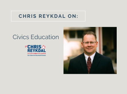 Chris Reykdal on Civics and Embracing Diversity