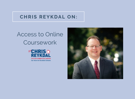 Chris Reykdal on Student Access to Coursework Online