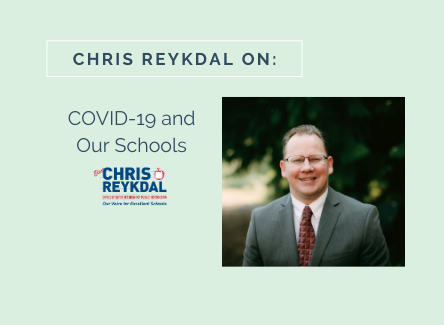 Chris Reykdal on COVID-19