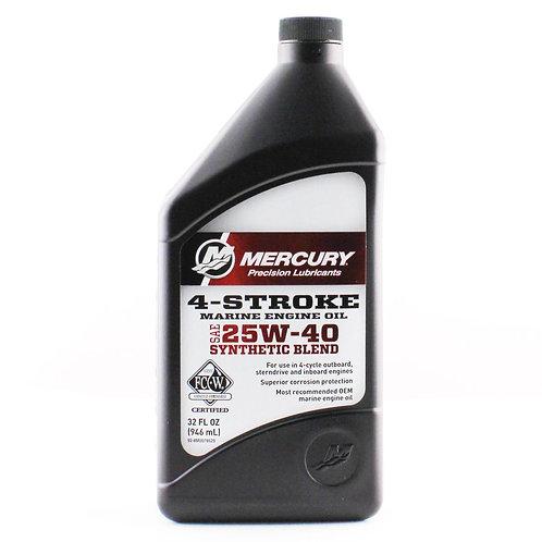Quart 25W40 Oil