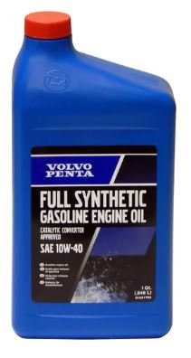 Gas Engine Oil: Full Synthetic 10W-40