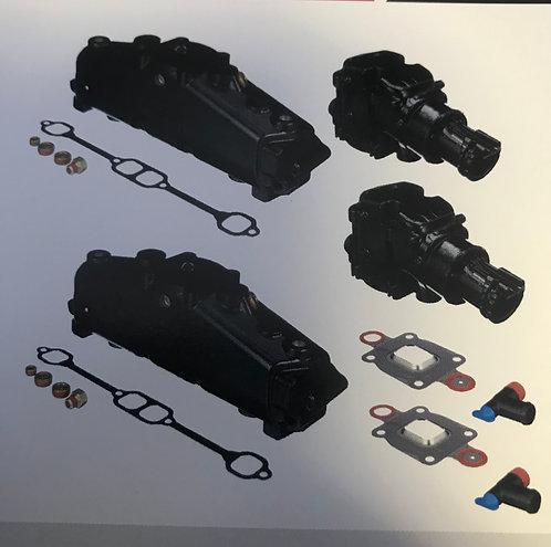 Exhaust Manifold & Elbow Conversion Kit SB V6