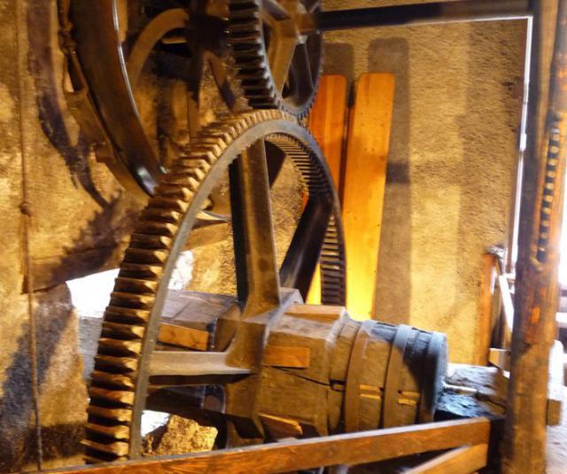 Rouage du moulin