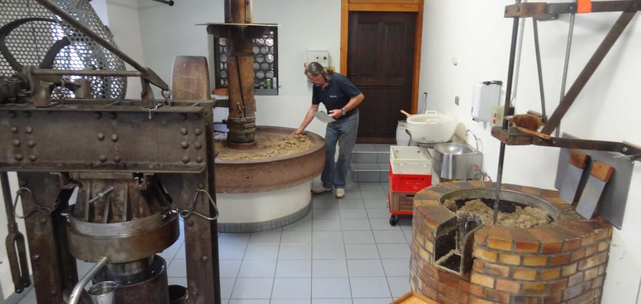 Huilerie artisanale