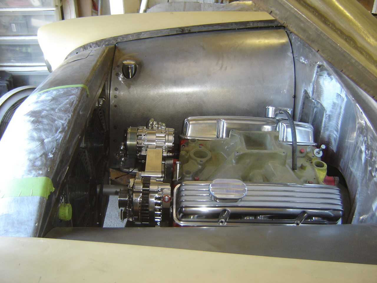 Customization Engine Compartment