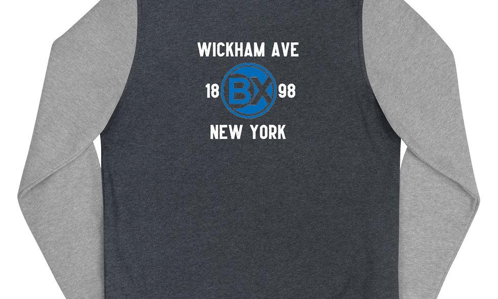 Wickham Ave Women's Letterman Jacket