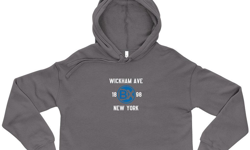 Wickham Ave Crop Hoodie