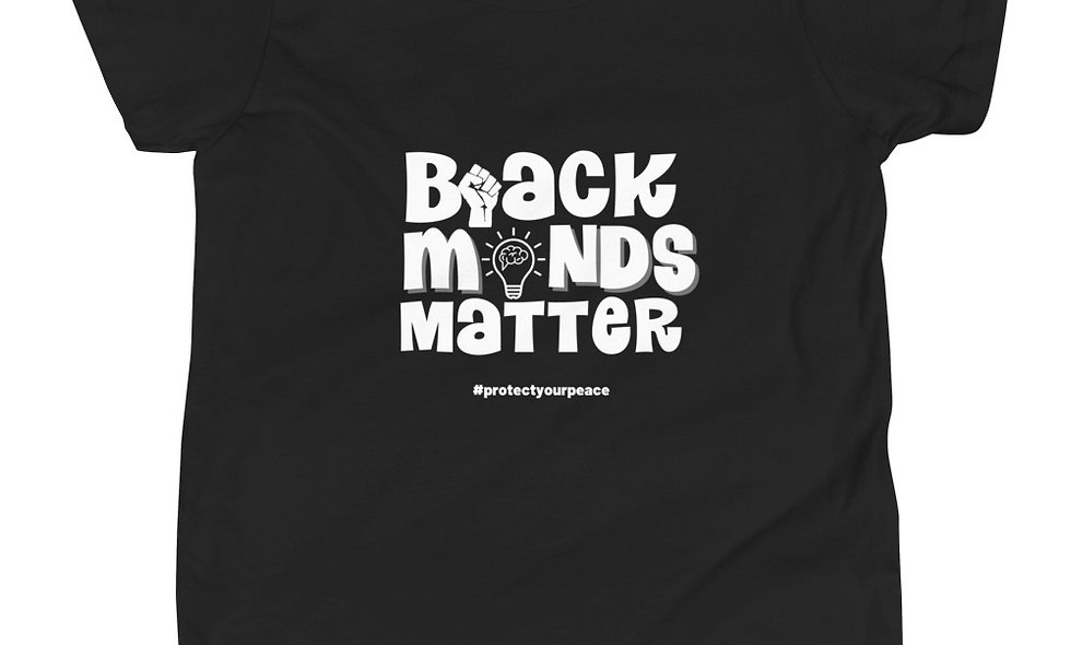 Kids Black Minds Tee