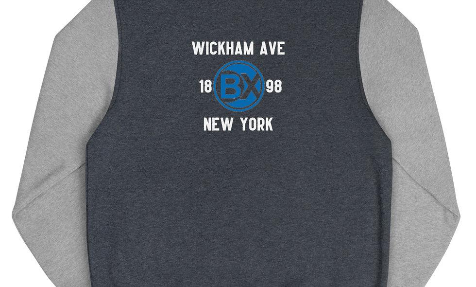 Wickham Ave Men's Letterman Jacket