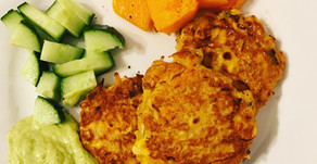 Recipe: Salmon fritters
