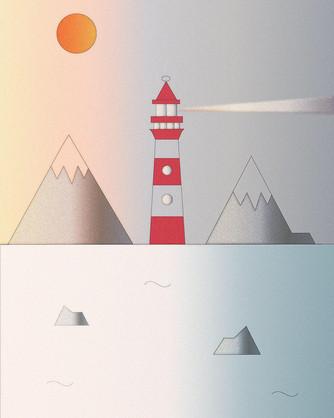 Lighthouse_Adobe illustrate