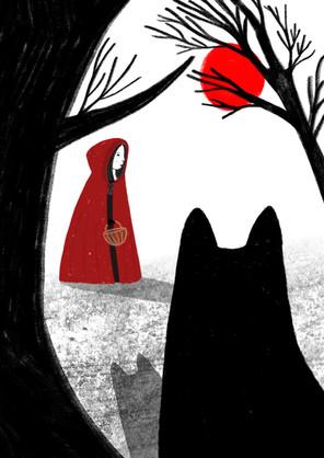 The little redcape Illustration