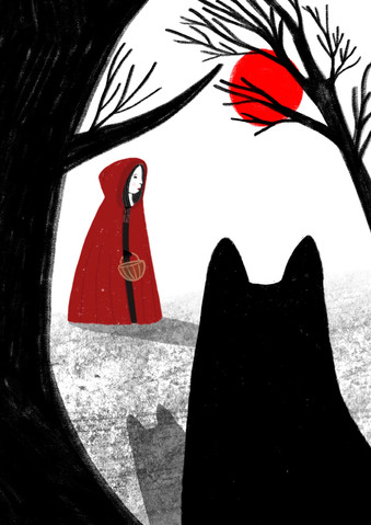 The little redcape Illustration