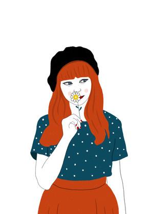 Flower-digital illustration