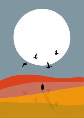 The seven ravens illustration