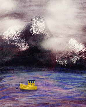 Seaside_digital artwork
