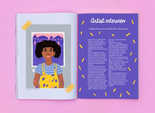 Alexandra Borghino-magazine design