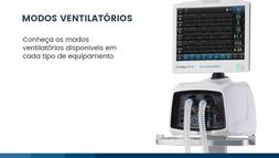 Modos ventilatórios para cada tipo de equipamento