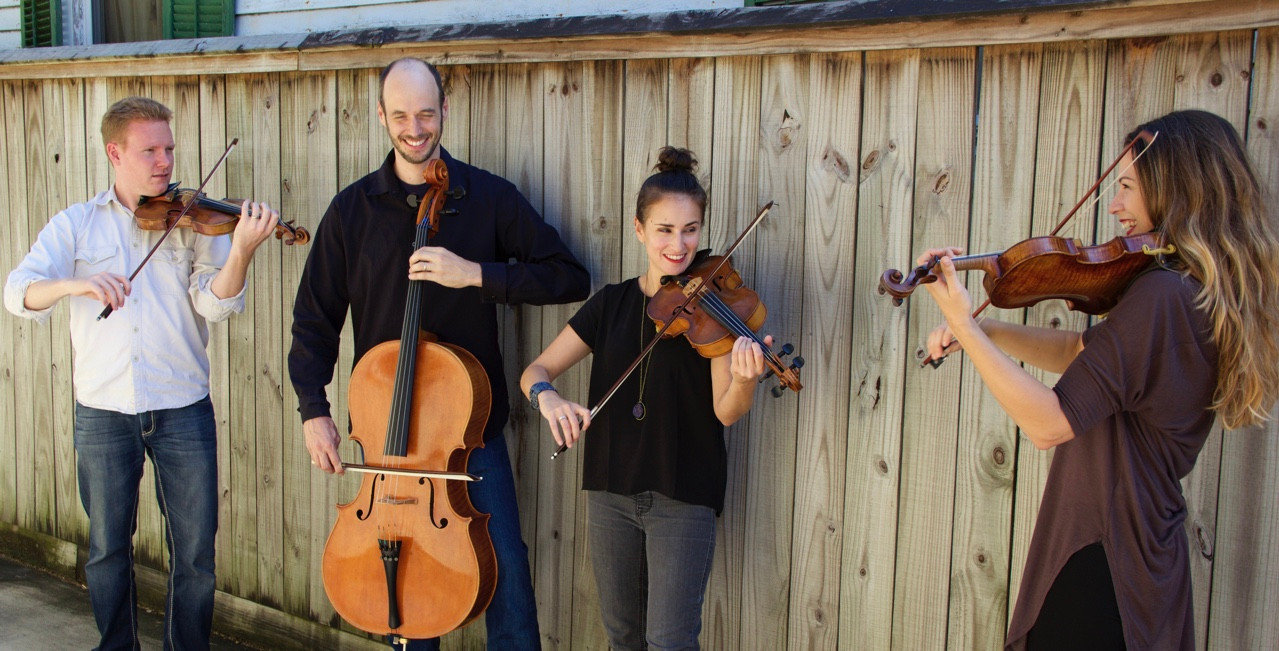 THE QUARTET | Polymnia Quartet | New Orleans String Quartet