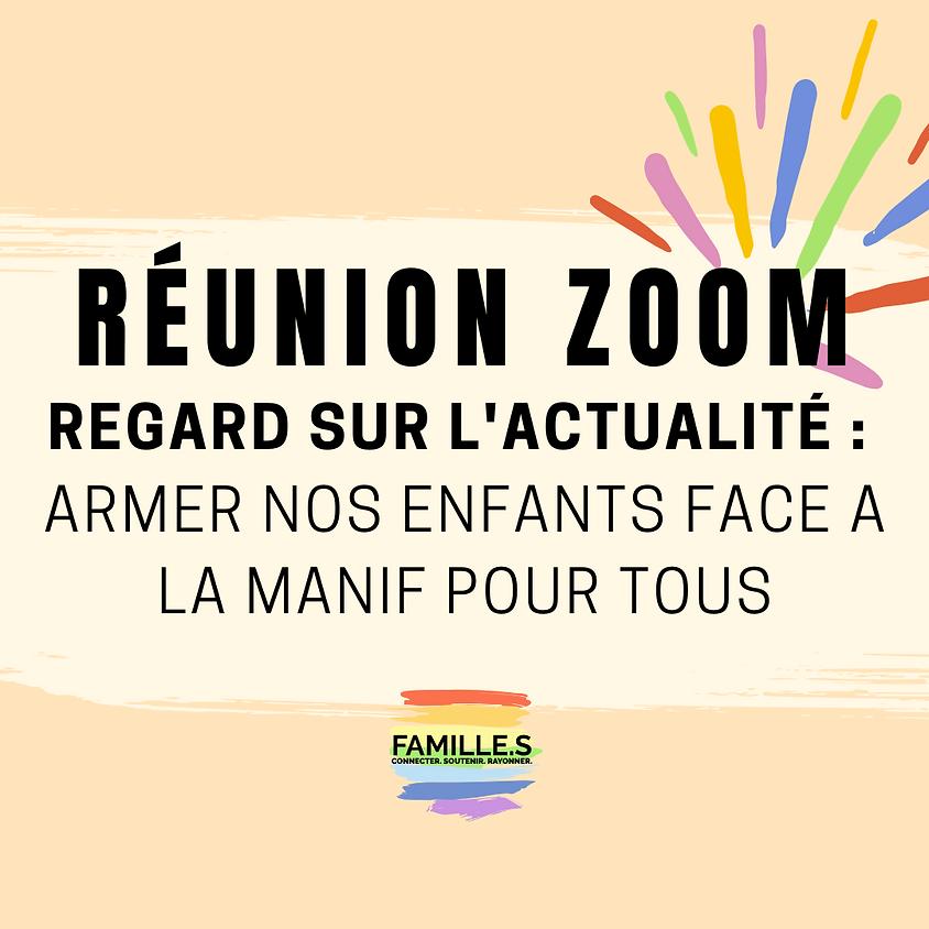"""ZOOM #1 / Regard sur l'actualité : """"Armer nos enfants face à la Manif pour Tous"""""""