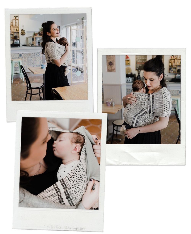 Blog PMA Léa & Capucine - Le portage de bébé