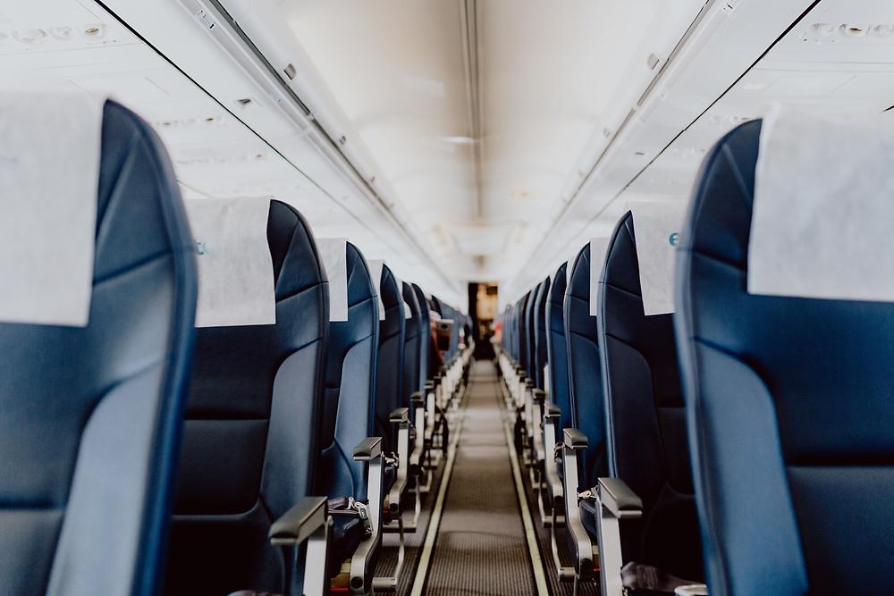 Blog PMA Léa & Capucine - Prendre l'avion avec bébé