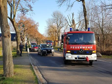 Verkehrsunfall ohne Personenschaden