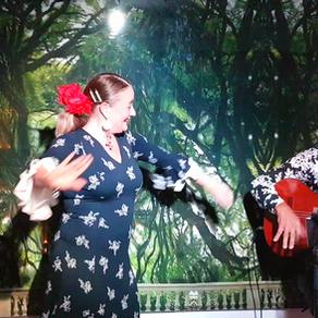Flamencon koputuksiin koukussa Calle Capitanilla