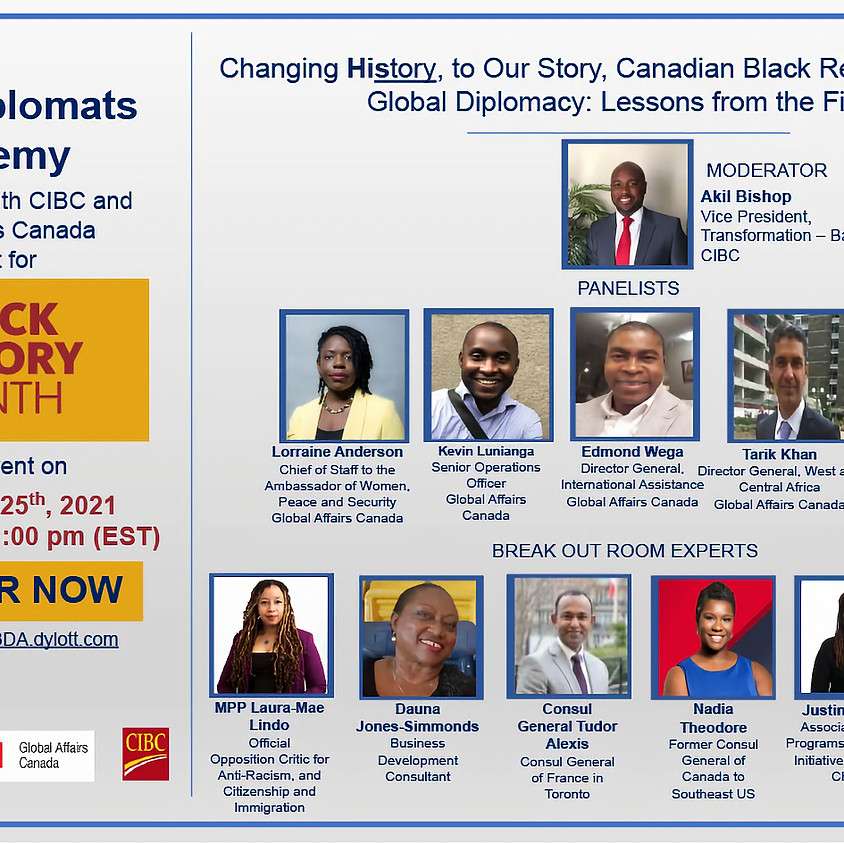 Canadian Black Representation in Global Diplomacy: Lessons from the Field