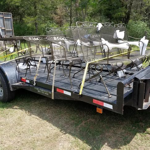 16ft 7,000#GVWR trailer