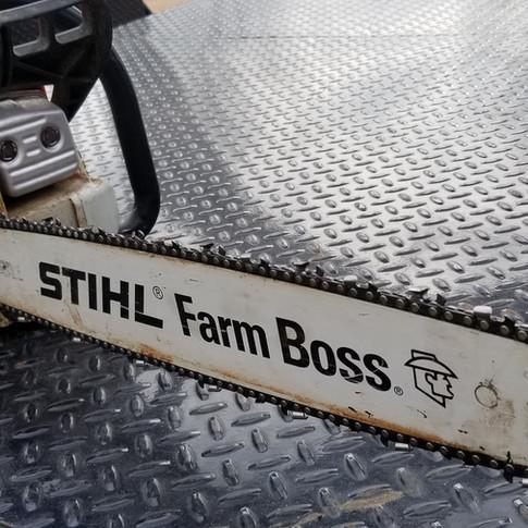"""Stihl Farm boss, 20"""" bar"""