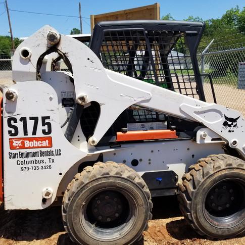 "Bobcat S175 49hp skid steer w/ 76"" bucket"