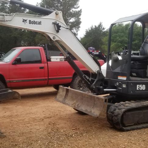 Bobcat E50 11,000# Excavator