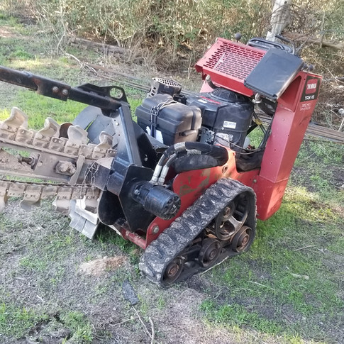 Tracked Walk Behind Trencher