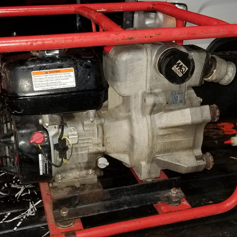 "2"" Multiquip Honda Powered Trash Pump"