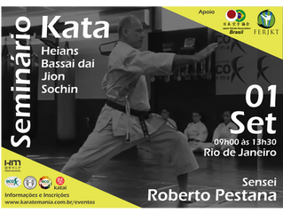 Curso de Kata com Sensei Pestana - RJ