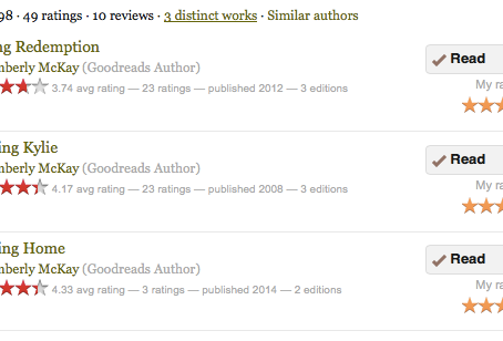 Do review on Goodreads or Amazon?