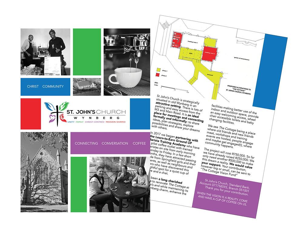 St John's Church brochure layout