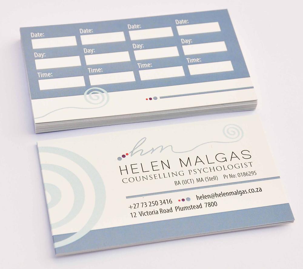 Logo, letterhead, business card design