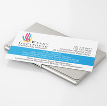 Wendy Greathead, logo and business card design