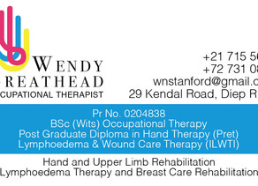 WENDY GREATHEAD: OCCUPATIONAL THERAPIST