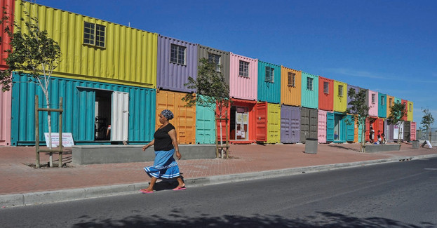 A different use for shipping containers