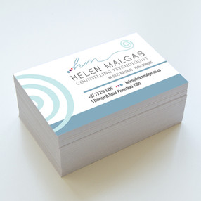 Business cards - Helen Malgas