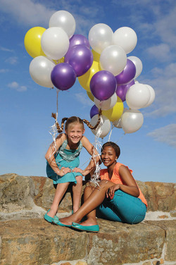 'Pippi lang kouse' on helium