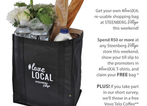 STEENBERG VILLAGE #LOVELOCAL SHOPPING BAG PROMOTION 2018