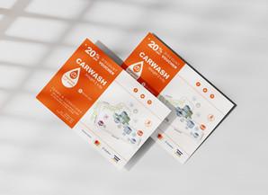 Car Wash Emporium, Sunningdale: Infographic design for marketing purposes