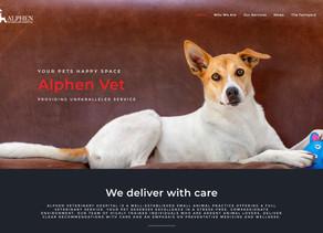 Alphen Veterinary Hospital Website
