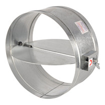 Electrovent fire, smoke dampers