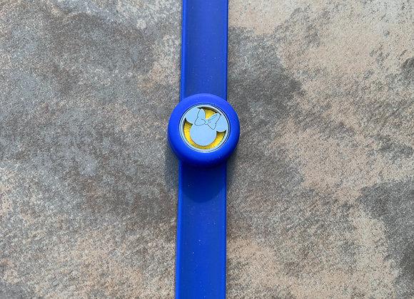 Minnie Blue Aromatherapy Slap Bracelet