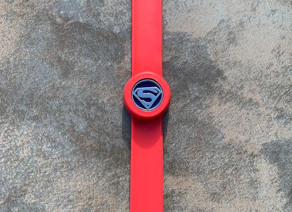 Superman Red Aromatherapy Slap Bracelet
